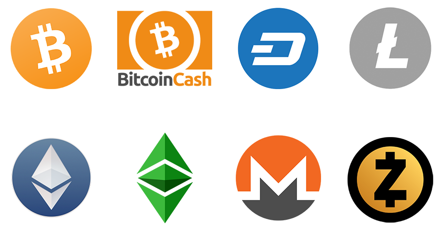 various cryptos